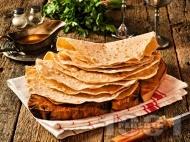 Класически домашен арменски хляб лаваш